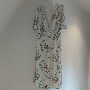 ASOS midi dress with side zip